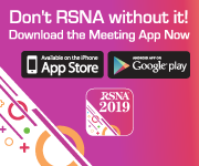 Download the 2019 RSNA Meeting App